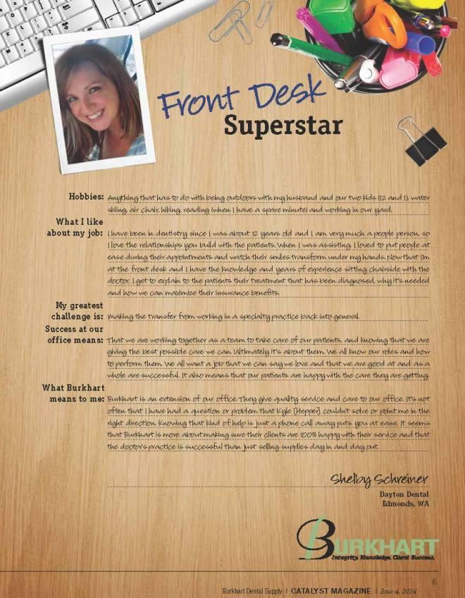 front desk superstar